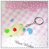 Flower shoes key chain