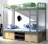 New !! Metal Bunk Bed with wood cabinet