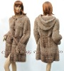 CX-G-A-46A Genuine Mink Fur Coat