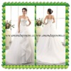 2013 Exclusive Design modern sweetheart neckline wedding dress with pleated skirt