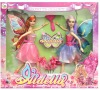 11.5 inch real body beatiful butterfly plastic dolls 2 in 1 set