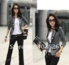 2012 elegant fashion Double-breasted OL style long sleeve ladies blazer Chic Suit