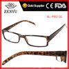 [Dollar Store]2013 tinted plastic amber reading glasses with spring hinge to wholesale promotional from factory wenzhou