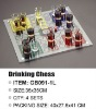 drinking glass ludo game set