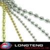 Own factory Aluminum alloy decoartive Metal bead curtain on sale!