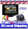 """3.5"""" TFT LCD rearview mirror car Monitor & CMOS/CDD Night Vision car camera"""