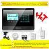 2012 New and Hot! Quadband wireless gsm security paradox alarm system with LCD display and Touch keypad(YL007newM2BX)