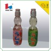 Heat shrink wrap bag for soft drink bottle