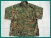 Military Army Fashionable Warm Yellow Digital Woodland Camouflage Clothing Suit