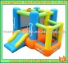 Inflatable 3 in 1 castle Jumping castle with slide and bounce combo