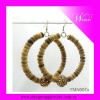 2012 Fashion golden earring designs for women