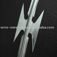 barbed pvc coated wire mesh (Factory)