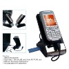 Desktop Cell Phone Holder with Card Reader and Charger