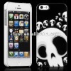 FOR NEW iPHONE 5 BNEW BLACK WHITE SKULL CASE COVER FOR iPHONE 5
