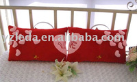 plush heart cushion/stuffed cushion toy/heart cushion