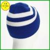 FB012617# warm soft100%acrylic newsboy/cowboy/knitted /polar fleece football hats