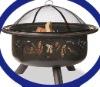 "24"" charcoal BBQ stove"