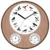 hygrometer thermometer Bird Sound Clock