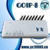 8 channels goip gateway(GOIP_8) gsm fixed wireless terminal