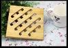 solid beech wood hot mat