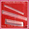 high quality clear glass round rod