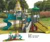 LLDPE and metal outdoor playground for amusement park