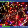 festive decoration multi color wire string led fairy lights