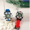 Hot sale electronic watch toy walkie talkie intercom interphone for kids