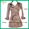 2012 Trendy long aldies korean trench coat LD01#