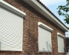 automatic rolling shutter window,aluminium shutters,rolling window