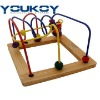 eduactional small wooden bead toys