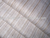 100% linen jacquard check and stripe fabric