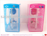 full plastic box for phone packaging