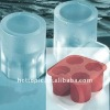 4 Cups Silicone Ice cool shooter glass