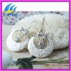 lastest enamel hoop earrings design for women
