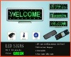 desktop led signs on wall indoor green c1664g rechargeable