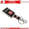 High quality honda car key chain,promotion gift,alloy and PU leather key chain,match with car key remotes!