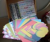 Hand-made Baby impression Scrapbook Kit in box