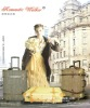 Linen classic trolley luggage(hand made)