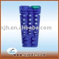 silicone rubber key button