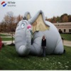Lovely inflatable cartoon elephant