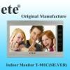 "Home security 9"" hand-free color video door phone monitor intercom"