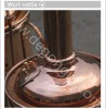 red copper brewery equipment 300l
