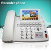4.3 inch telephone message recording