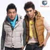 Winter padding vest coat gilet for man