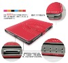 New arrival case for mini ipad and Cover Skin PU Leather Case