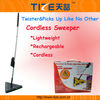 Cordless magic sweeper TZ-TV700 Triangle Cordless Sweeper with Rechargeable Battery&360 degrees head swivel