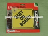 plastic warning stickers