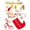 The Latest Christmas kids interior wall decoration,kids gifts room decoration