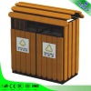Promotional garbage bin with wheel